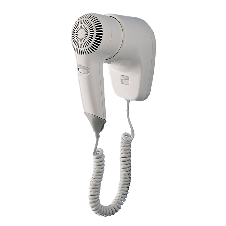 Asciugacapelli Bianco Gedy G Zefiro 1200w Da Parete G 50530200000