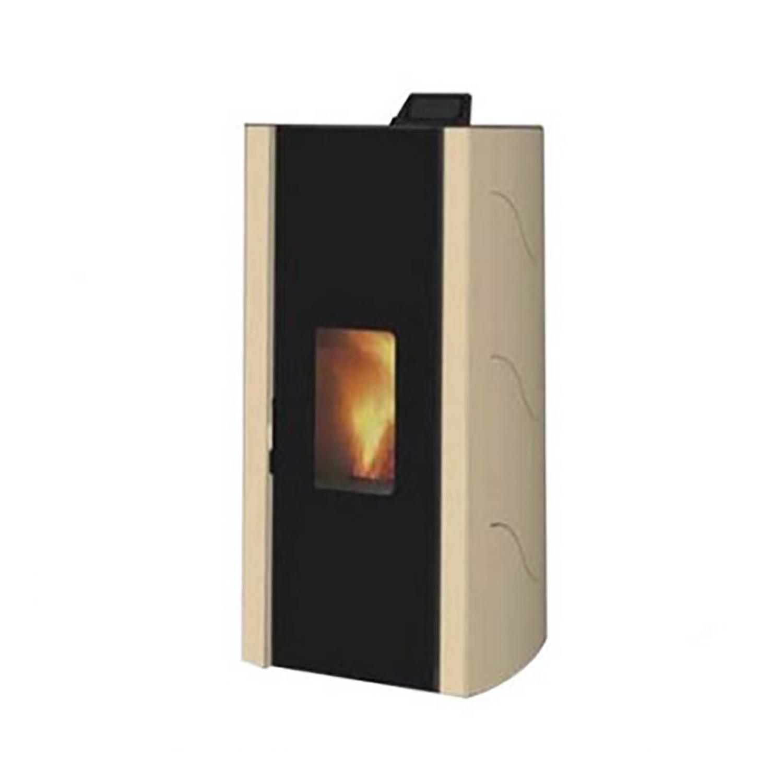 Stufa a pellet Palazzetti Ecofire Malu 8 beige 805802531 - SIGI Store